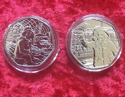 50p Pence Paddington Bear Coin at The Station The Palace 2018 Uncirculated Coin