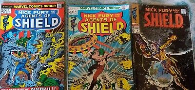 Nick Fury, Agent of Shield # 6, and his Agents 3, 4 Steranko Marvel comics kirby