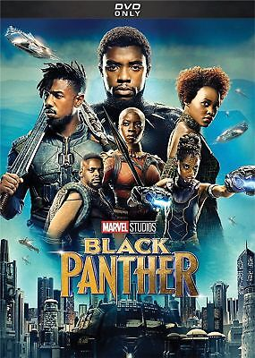 Black Panther (DVD,2018) Brand NEW!! Action, Marvel, FREE SHIPPING