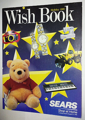 1997 97 Sears Wish Book Christmas Holiday Catalog Toys Dolls Games Trains Video