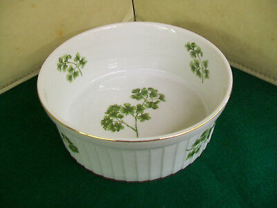 Vintage Andrea by Sadek Pasley Oven to Table Cookware Souffle Dish 7378