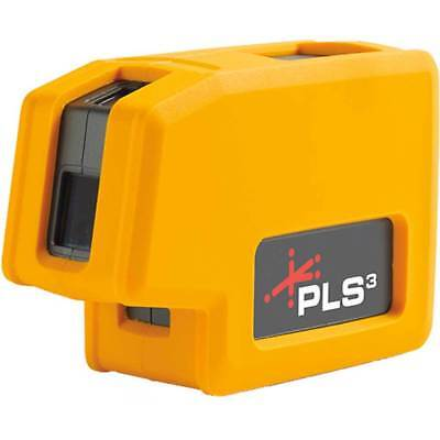 Pacific Laser Systems PLS3 3-point Red Beam Laser Alignment Level PLS-60523N