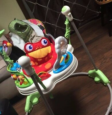 Fisher Price Rainforest Jumperoo Baby Jumper Activity Seat (With Original Box)