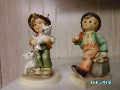 Lot of 2 Hummel Goebel Bee Figurines In Box 997 &1112 Limited Edition - Germany