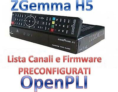ZGemma H5 Decoder H265 1xDVB-T2 1xDVB-S2 Combo Linux Enigma 2 IPTV OpenPLI