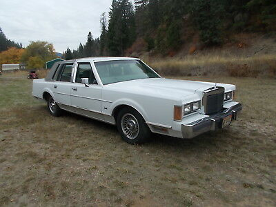 1989 Lincoln Town Car LEATHER 1989 LINCOLN TOWN CAR WELL MAINTAINED LOTS OF SERVICE RECORDS TURN KEY CLASSIC!!