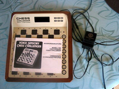 Schachcomputer Chess Challenger, Modell VSC,  Fidelity Electronics,1984