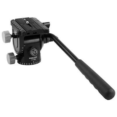Heavy Duty Aluminum Camera Video Fluid Head Hydraulic Damping Tripod Ball Head