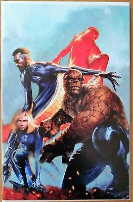 Fantastic Four # 1 Dell 'Otto Virgin Variant - NM - Amazing Cover