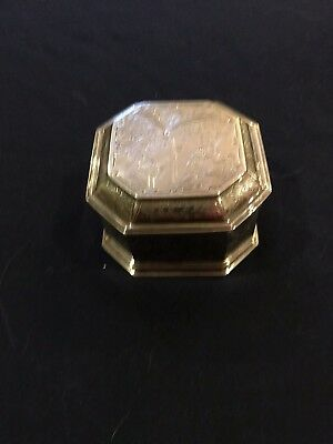 METROPOLITAN MUSEUM of ART SILVER PLATED BOX SILVERPLATE BOX REPRO for/by MMA