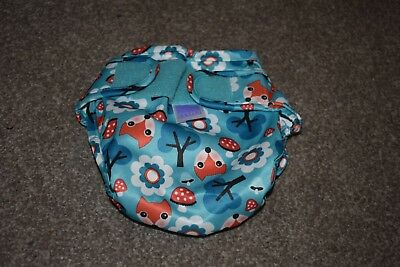 Miosoft Nappy Cover Bambino Mio Reusable Washable Size One Water Resistant Cover