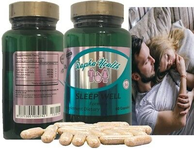 Formula slepp Natural relief for muscle spasm, stress, and tension 60 capsules