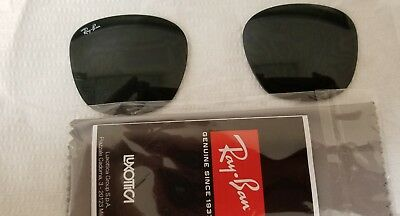 Authentic Ray-Ban replacement lenses RB 4258  Gray 50 mm