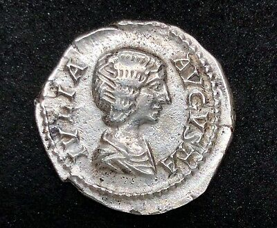 ROMAN EMPIRE JULIA DOMNA AR DENARIUS 2.95gr 18.2mm /306/