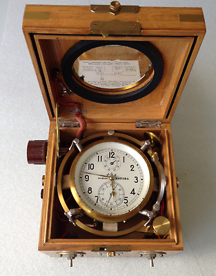 VERY RARE RUSSIAN MARINE CHRONOMETER KIROVA (13ChP for strategic bombers)
