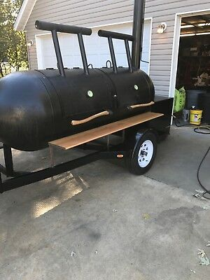 smoker on trailer