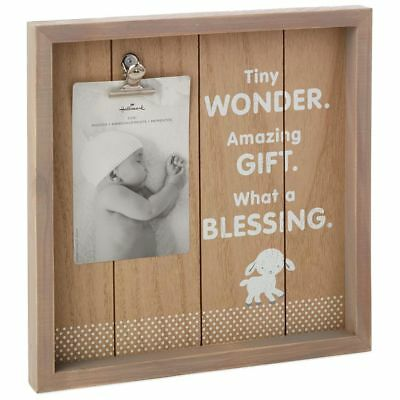 Hallmark Tiny Blessing Lamb Picture Frame, 4x6 MSRP $16.95