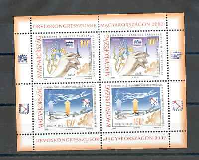 Hungary - Souvenir Sheet of Stamps Year 2002 MNH**