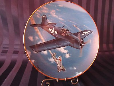 F-6F Hellcat Plate Hamilton Collection:Great Fighter Planes World War II