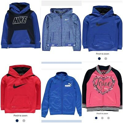 Kids Tops Boys Girls Hoodie Children Jumpers Outfits Branded Clothes 3-12 Y New