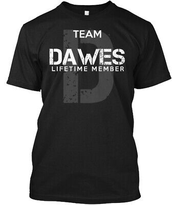 Team Dawes Lifetime Member Hanes Tagless Tee T-Shirt