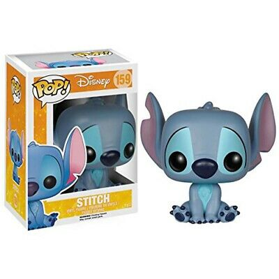 POP Disney: Lilo and Stitch Stitch Seated Collectible Funko Figure Collect Play