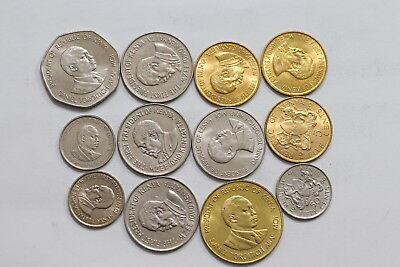 Kenya Currency Coins Mostly In High Grade A98 Wp25