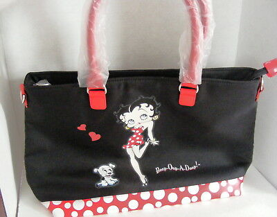 Betty Boop Satchel-Style Ladies Handbag W/Classic Artwork Bradford Exchange NEW