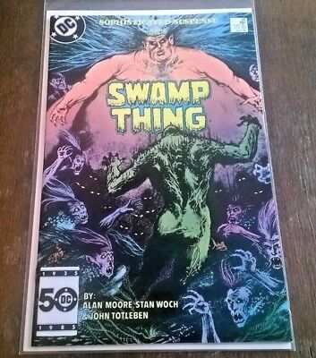 Swamp Thing #38 NM Alan Moore 2ND John Constantine DC Comics Copper Age