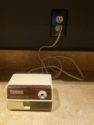 Vintage Panasonic KP-110 Auto Stop Electric Pencil Sharpener Very good condition