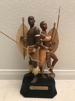 Ebony Visions The Protectors of Freedom Thomas Blackshear African Art Statue