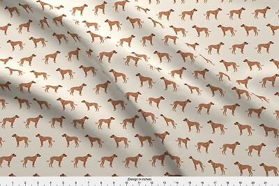 Rhodesian Ridgeback Dog Dogs Pet Dog Breed Pet Fabric Printed by Spoonflower BTY