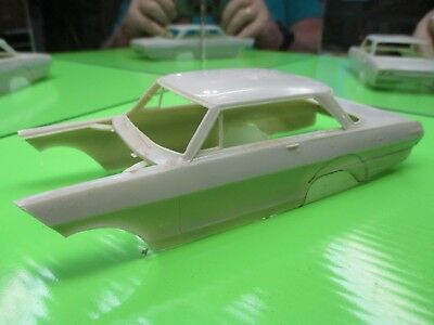 Painted Never Built 1962 Chevy Ii Race Car Body