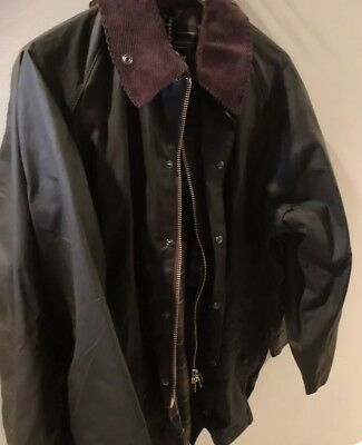 Barbour Beaufort Jacket Men'S Size 42 Olive. New With Tags.