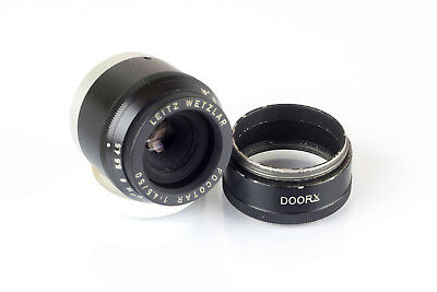 Leitz Focotar 50 f4.5 1:4,5 enlarger lens (16781 R) with DOORX extender