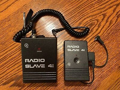 Quantum Instruments Radio Slave 4i Set (1 Sender and 1 Remote) A Frequency