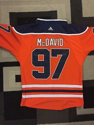 Connor McDavid Edmonton Oilers Jersey - Size M-XXL (Plus Youth Sizes)