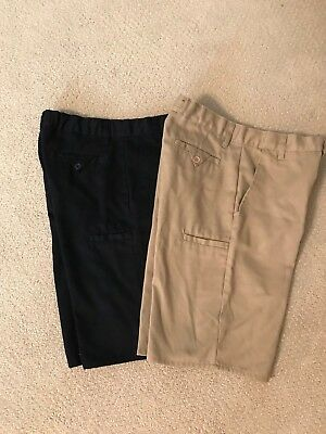 Kids School Uniforms Shorts - Used 2 Pairs for the Price of one!-Good Condition