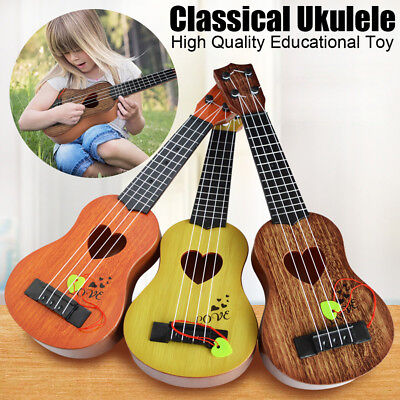 Mini Classical Ukulele Guitar Educational Musical Instrument Toy Gift For Kids X