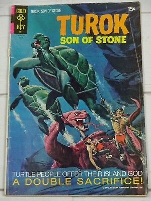 Turok, Son of Stone #74  Gold Key Bagged and Boarded - C3506