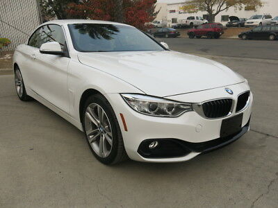 2017 BMW 4-Series Convertible/2.0-liter Twin Turbo inline 4cyl. 2017 BMW 430I-Convertible Twin-Turbo 2.0L/4V Run & Drive salvage Low Reserve 17