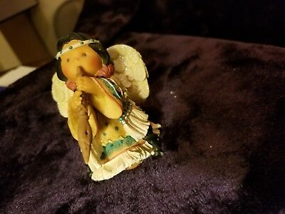 "Retired 1999 Enesco ""sweet Sounds In Her Step"" Friends Of The Feather Figurine"
