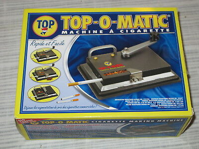 Top O Matic Cigarette Making Packing Rolling Machine New