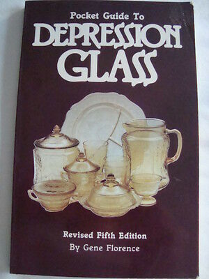 Pocket Guide to Depression Glass by Gene Florence (1987, Paperback)
