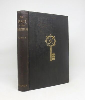 TAROT OF THE BOHEMIANS ~ Papus ~ Scarce First UK Edition c.1896