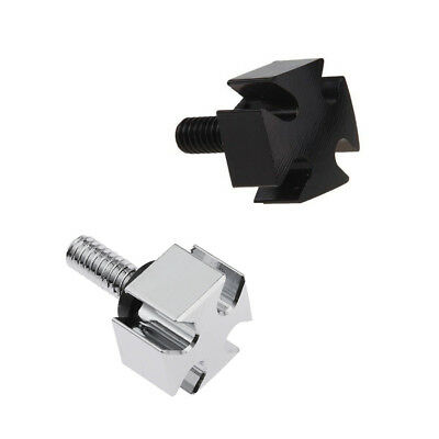 Motorcycle 6MM CNC Cross Rear Seat Screw Bolt for Harley Touring Sportster