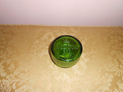 "Vintage green depression glass Hudson bug sprayer ""jar only"""