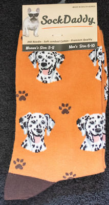 Dalmatian Dog Breed Lightweight Stretch Cotton Adult Socks