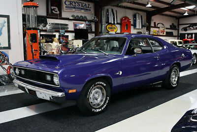 1971 Plymouth Duster DUSTER 318 AUTOMATIC SPORT COUPE BASE 1971 DUSTER 318 AUTOMATIC RALLY WHEELS HOOD SCOOP BUCKET SEATS RUNS & DRIVES
