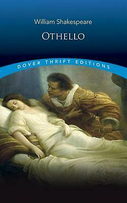 Othello by William Shakespeare (English) Paperback Book Free Shipping!